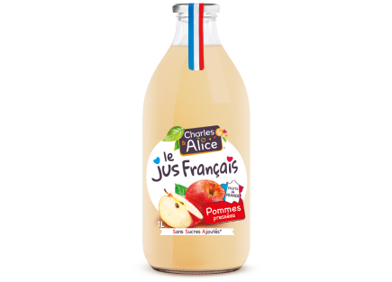 Charles alice jus de fruits pommes France francais 100%